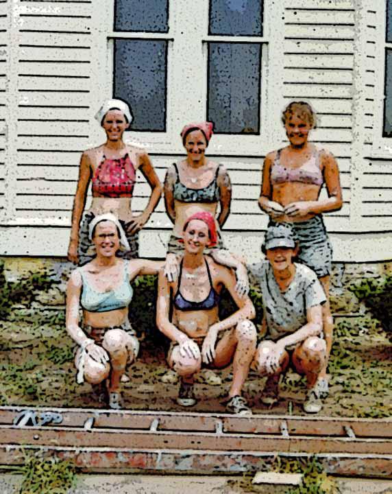 Painted Ladies Painting Crew, 1973-74