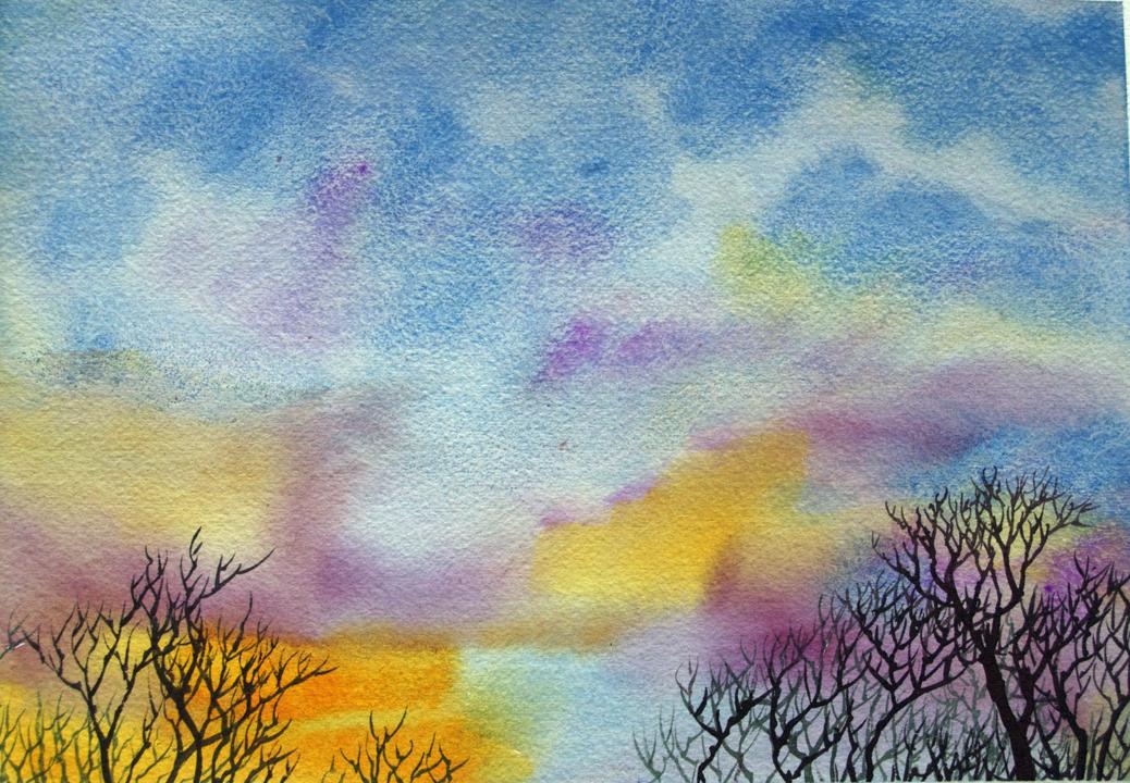Painting 'Plein Air' Watercolors and Creating Visual Memories ...
